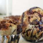 Chocolate Banana Cheesecake Muffins
