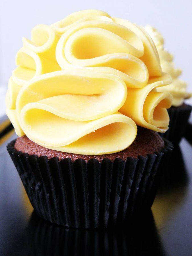Choklad och mango cupcakes 02