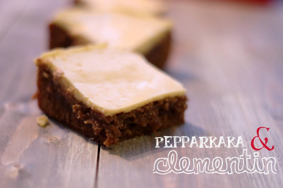Pepparkaksblondies med glasyr 05
