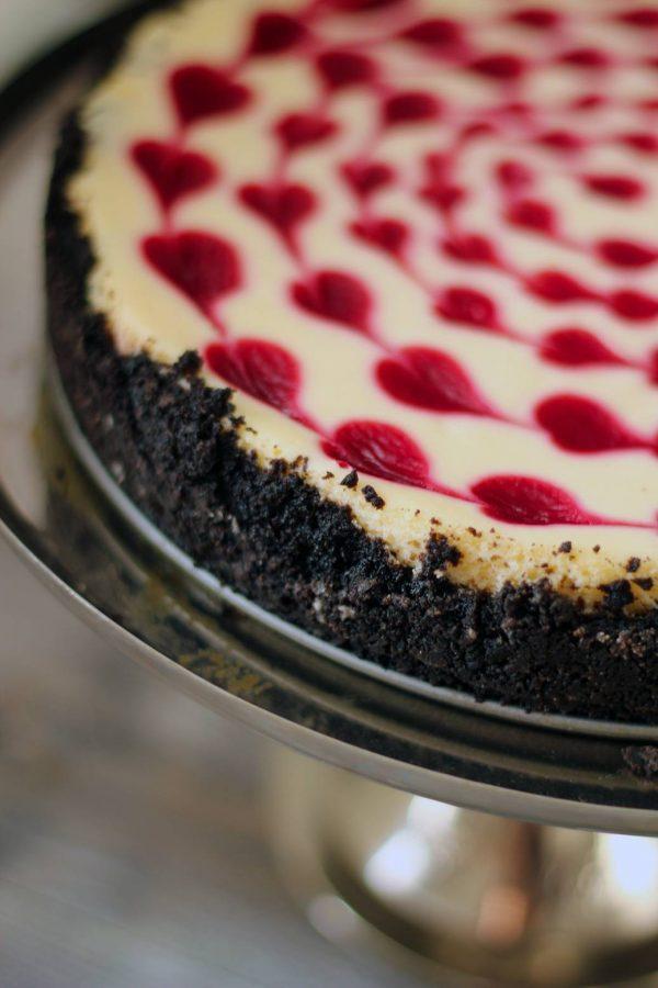 Cheesecake med hjärtan 02