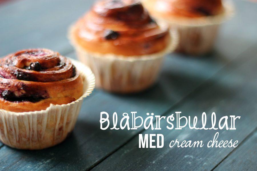 Blåbärsbullar med cream cheese 10