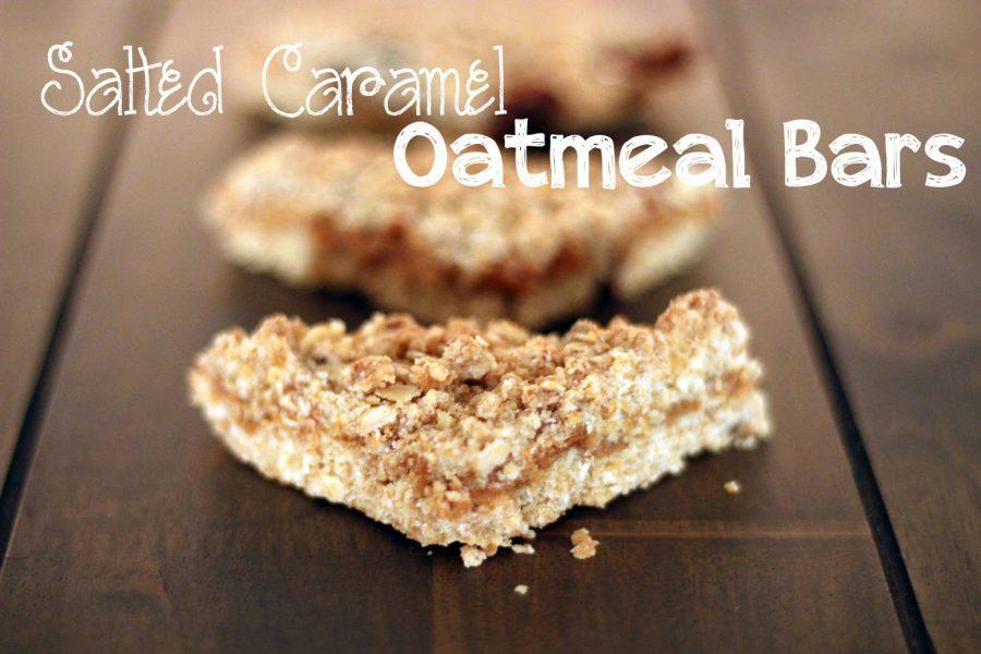 Salted Caramel Oatmeal Bars 06