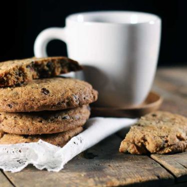 Chocolate Chip Cookies med bacon